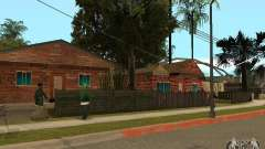 New textures of houses on Grove Street