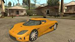Koenigsegg CCX (v1.0.0) for GTA San Andreas