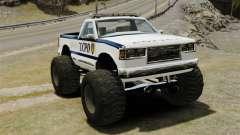 Cop Monster Truck ELS