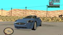 Jaguar XK Convertable for GTA San Andreas