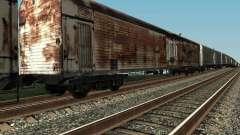 Refrežiratornyj wagon Dessau No. 4 Rusty