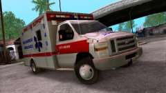 Ford E-350 Ambulance v2.0 for GTA San Andreas