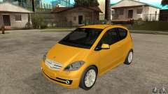 Mercedes Benz A200 Turbo 2009 for GTA San Andreas