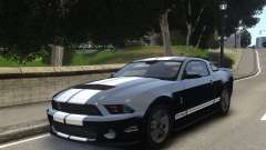 Ford Shelby GT500 2010 WIP