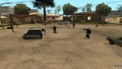 On Grove Street was attacked by Ballas