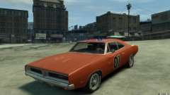 Dodge Charger General Lee v1.1 for GTA 4