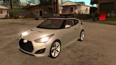 2012 Hyundai Veloster silver for GTA San Andreas