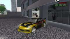 Mazda RX-8 Rockstar for GTA San Andreas