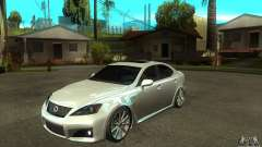 Lexus IS F 2009 for GTA San Andreas