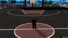 The new basketball court