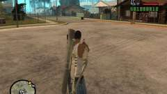 The standard sight for GTA San Andreas
