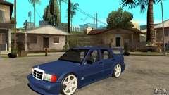 Mercedes-Benz w201 190 2.5-16 Evolution II for GTA San Andreas