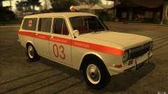 GAZ-24 Volga 03 ambulance for GTA San Andreas
