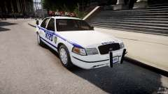 Ford Crown Victoria Police Department 2008 NYPD for GTA 4
