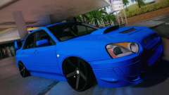 Subaru Impreza WRX STI turquoise for GTA San Andreas