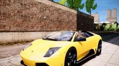 Lamborghini Murcielago LP650-4 Roadster for GTA 4