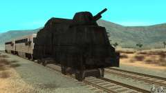 German armoured train of the second world