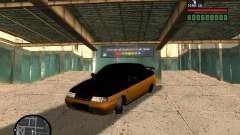 VAZ 2110 HERTZ-style (D.A.G) Orange for GTA San Andreas