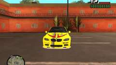 BMW M3 yellow for GTA San Andreas