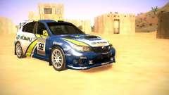 Subaru impreza Tarmac Rally for GTA San Andreas