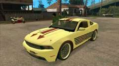 Ford Mustang Jade from NFS WM for GTA San Andreas