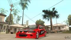 Mitsubishi Evo 8 Tuned for GTA San Andreas