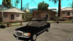 Mercedes Benz W126 560 v1.1 for GTA San Andreas