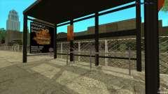 Bus stops in HD