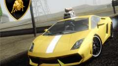 Lamborghini Gallardo LP640 Vallentino Balboni for GTA San Andreas