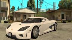 Koenigsegg CCX - Stock for GTA San Andreas