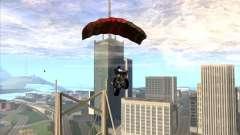 Parachute for bajka