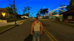 Improved camera angle V2 for GTA San Andreas