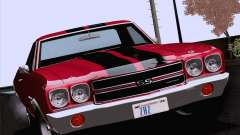 Chevrolet El Camino SS 70 Fixed Version for GTA San Andreas