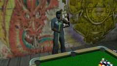 New pool table for GTA San Andreas