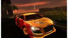 Audi R8 Calibri-Ace for GTA San Andreas