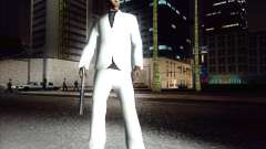White costume for GTA San Andreas
