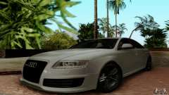 Audi RS6 2009 white for GTA San Andreas