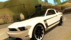 Ford Mustang Boss 302 2011 for GTA San Andreas