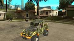 GAZ 69 Trial for GTA San Andreas