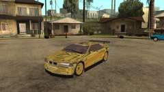 BMW M3 Goldfinger for GTA San Andreas