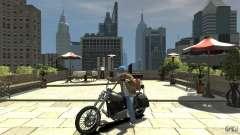 Zombie Bike Paintjob for GTA 4