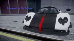 Pagani Zonda Cinque Roadster for GTA 4