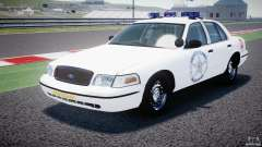Ford Crown Victoria US Marshal for GTA 4