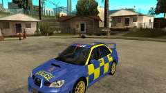 Subaru Impreza STi police