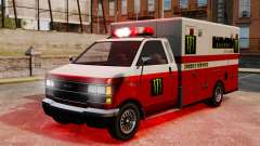 First aid Monster Energy for GTA 4