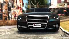 Audi A8 2010 for GTA 4