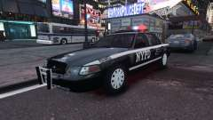 Ford Crown Victoria NYPD Auxiliary for GTA 4