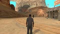 Cowboy duel v2.0 for GTA San Andreas