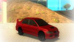 Mitsubishi Lancer Evolution IX MR 2006 for GTA San Andreas