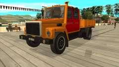GAZ 3309 hazard lights